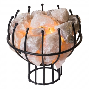 Crystal Cage Lamp Smokey Quartz