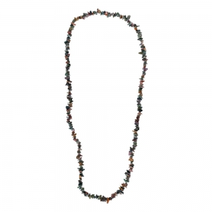 CHIP NECKLACE - MOSS AGATE