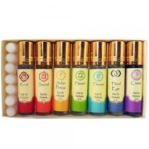 Chakra Perfume Oil Gift Set 8 ml (Set of 7)