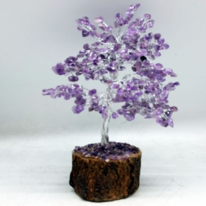 20cm Wire Amethyst Wish Tree
