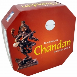 DARSHAN COIL - Chandan Incense (10 Coils)