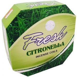DARSHAN COIL - Citronella Incense (10 Coils)