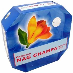 DARSHAN COIL - Nag Champa Incense (10 Coils)