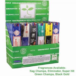 DISPLAY - Satya Incense Assorted 15gms (36pk)