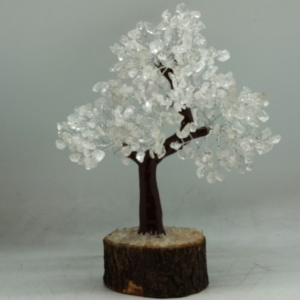 20cm Jumbo Clear Quartz Wish Tree