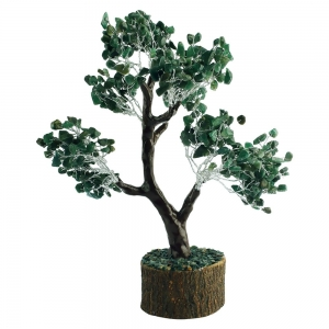 20cm Jumbo Green Aventiurine Wish Tree