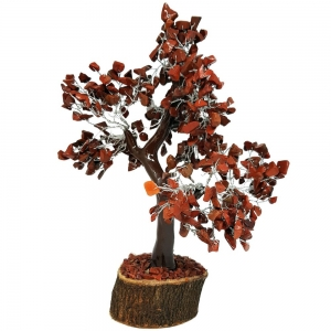 20cm Jumbo Red Jasper Wish Tree