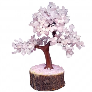 20cm Jumbo Rose Quartz Wish Tree