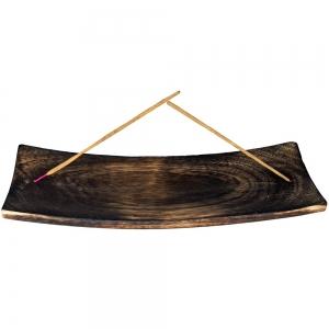 FLAT ASH CATCHER - Wooden 9cm x 30cm