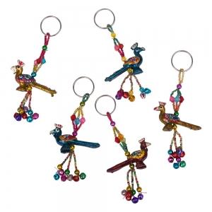 Resin Bell Key Chain