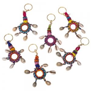 Mirror Shell Key Chain