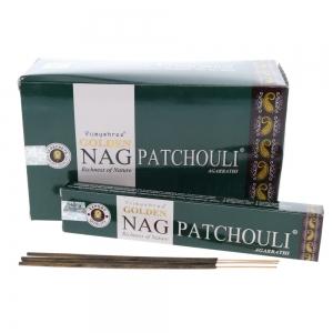 Golden Nag Patchouli 15gms