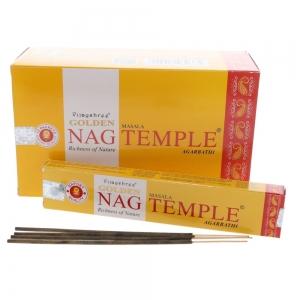 Golden Nag 15gms - Temple Incense