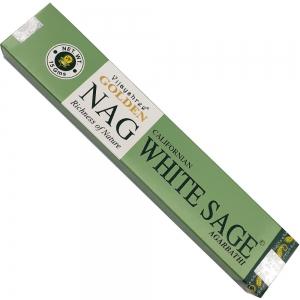 Golden Nag 15gms - White Sage