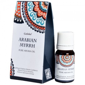 GOLOKA FRAGRANT OIL - Arabian Myrrh 10ml