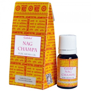 GOLOKA FRAGRANT OIL - Nag Champa 10ml