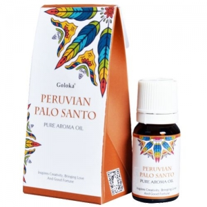 GOLOKA FRAGRANT OIL - Peruvian Palo Santo 10ml