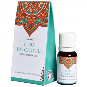 GOLOKA FRAGRANT OIL - Pure Patchouli 10ml