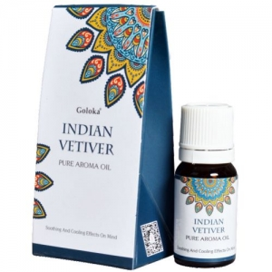 GOLOKA FRAGRANT OIL - Indian Vetiver 10ml