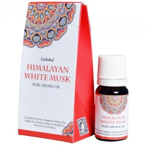 GOLOKA FRAGRANT OIL - Himalayan White Musk 10ml