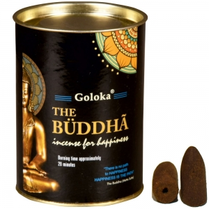 GOLOKA BACKFLOW - Buddha Incense Cones