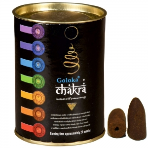 GOLOKA BACKFLOW - Chakra Incense Cones