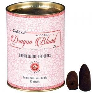 GOLOKA BACKFLOW - Dragon Blood Incense Cones