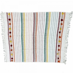 127cm x 150cm - Cotton Throw Rug