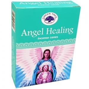 Green Tree Cones - Angel Healing