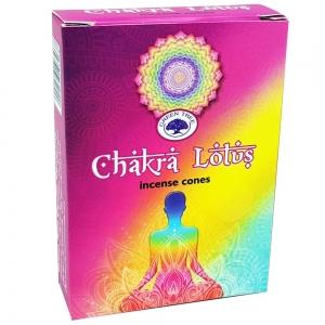 Green Tree Cones - Chakra Lotus