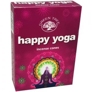 Green Tree Cones - Happy Yoga