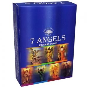 Green Tree Cones - 7 Angels