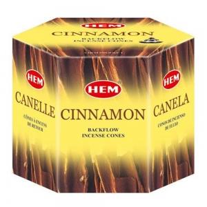 HEM BACKFLOW - Cinnamon Incense Cones