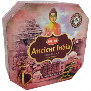 Hem Incense Coil Ancient India