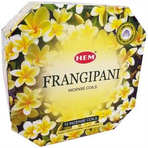 Hem Incense Coil Frangipani