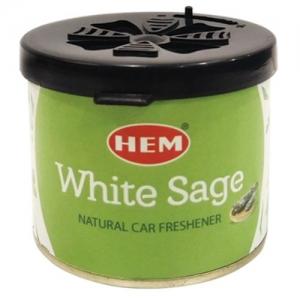 Hem Car Freshener - White Sage