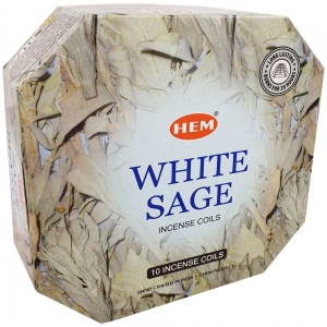 Hem Incense Coil White Sage