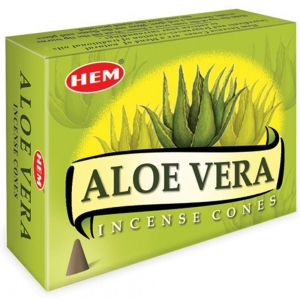 Hem Cone Incense -  Aloe Vera