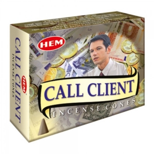 Hem Cone Incense -  Call Client