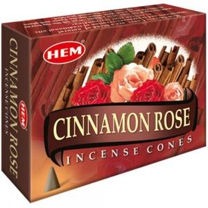 Hem Cone Incense -  Cinnamon Rose