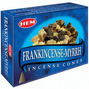 Hem Cone Incense -  Frankincense Myrrh