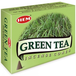Hem Cone Incense -  Green Tea Incense