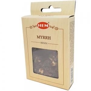 HEM RESINS - Myrrh Incense 30gms