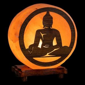 Himalayan Salt Lamp - Buddha 4kg (NO GLOBE, NO CORD)