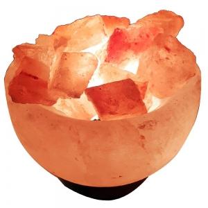 Himalayan Salt Lamp Fire Bowl 3kg Plain Box