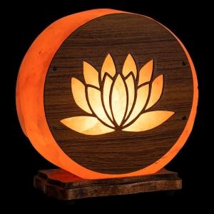 Himalayan Salt Lamp - Lotus 4kg (NO GLOBE, NO CORD)