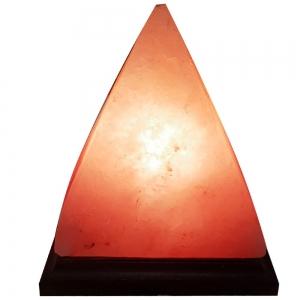 Himalayan Salt Lamp Pyramid 3kg Plain Box