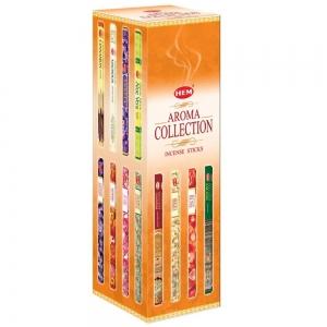 Hem Square Incense - Aroma Collection 8 Sticks