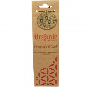 INCENSE CONES - ORGANIC GOODNESS Dragons Blood