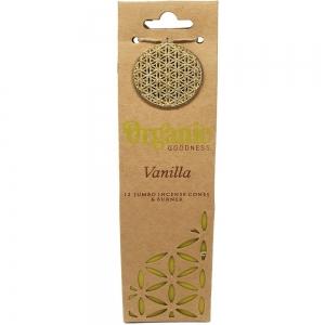 INCENSE CONES - ORGANIC GOODNESS Vanilla